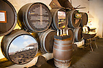 Bodega La Geria vineyard tourist attraction for sampling and buying wine, Lanzarote, Canary Islands, Spain