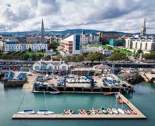 The National Yacht Club Dun Laoghaire Harbour