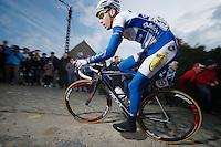 Kenneth Vanbilsen (BEL/Topsport Vlaanderen-Baloise) : fast man up the Paterberg<br /> <br /> Dwars Door Vlaanderen 2014