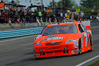 6-8 August, 2010, Watkins Glen, New York USA.Robby Gordon (#7).©2010 F.Peirce Williams, USA.
