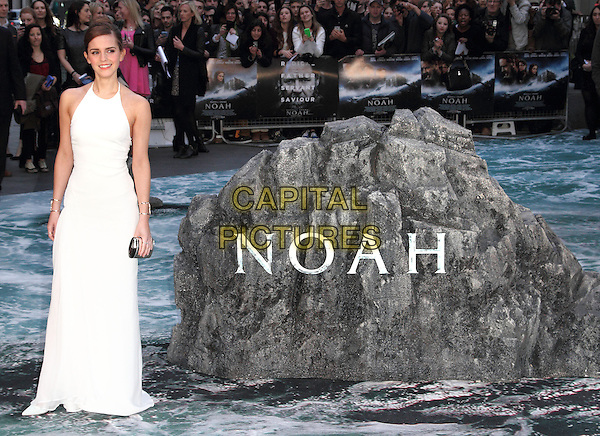 LONDON, ENGLAND - MARCH 31: Emma Watson attends the UK Premiere of 'Noah' at the Odeon Leicester Square on March 31, 2014 in London, England<br /> CAP/ROS<br /> &copy;Steve Ross/Capital Pictures