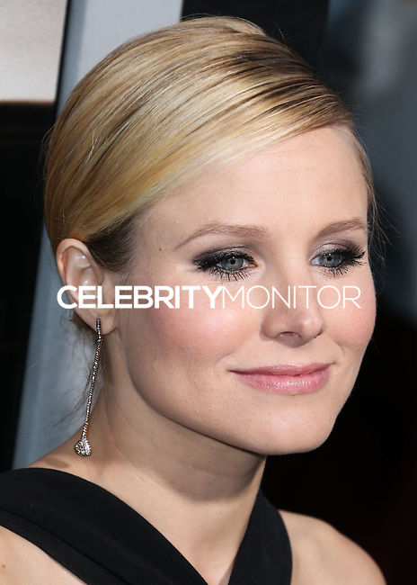 BEVERLY HILLS, CA, USA - OCTOBER 01: Kristen Bell arrives at the Los Angeles Premiere Of Warner Bros. Pictures And Village Roadshow Pictures' 'The Judge' held at the Samuel Goldwyn Theatre at The Academy of Motion Picture Arts and Sciences on October 1, 2014 in Beverly Hills, California, United States. (Photo by Xavier Collin/Celebrity Monitor)