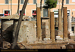 Largo di Torre Argentina Temple A Temple of Juturna 3rd c BC Apse and Altar San Nicola dei Cesarini 9th c Church built in Temple Campus Martius Rome