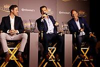 2018 Continental Tire SportsCar Challenge Awards, <br /> Kyle Marcelli, Hugh Plumb, Owen Trinkler
