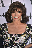 Joan Collins at the V&amp;A&rsquo;s summer party at the Victoria and Albert Museum, London, England on June 22, 2016<br /> CAP/PL<br /> &copy;Phil Loftus/Capital Pictures /MediaPunch ***NORTH AND SOUTH AMERICAS ONLY***