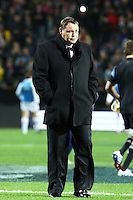 All Blacks coach Steve Hansen during the 2013 Rugby Championship - All Blacks v Argentina at Waikato Stadium, Hamilton, New Zealand on Saturday, 7th September   2013. Copyright Dion Mellow Photography. Credit DMP / Dion Mellow