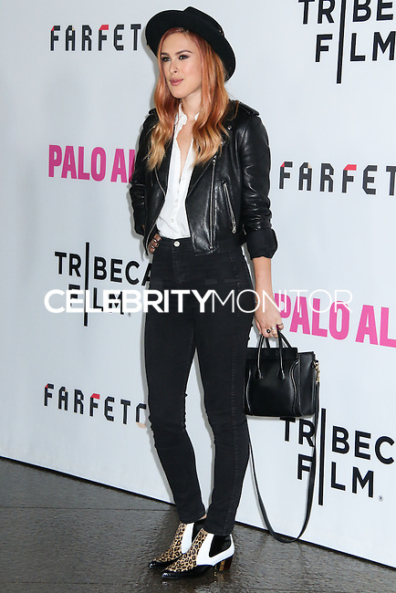 "LOS ANGELES, CA, USA - MAY 05: Rumer Willis at the Los Angeles Premiere Of Tribeca Film's ""Palo Alto"" held at the Directors Guild of America on May 5, 2014 in Los Angeles, California, United States. (Photo by Celebrity Monitor)"