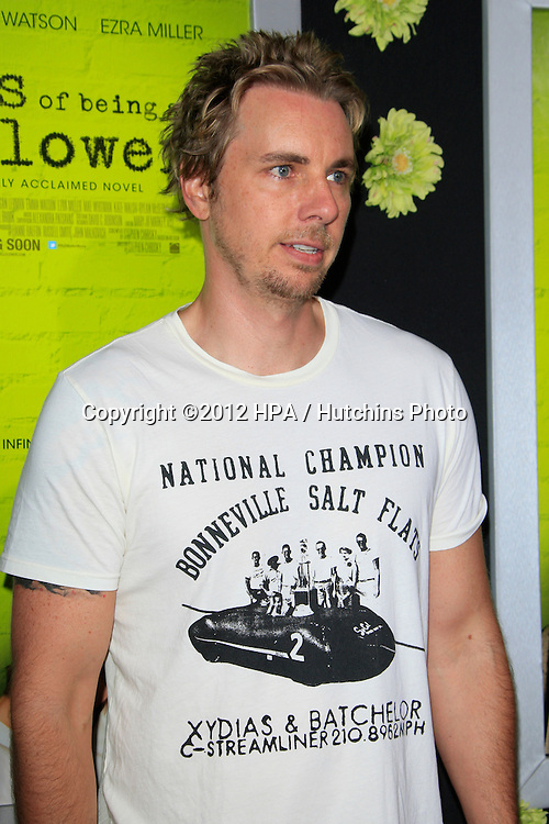 """LOS ANGELES - SEP 10:  Dax Shepard arrives at """"The Perks of Being a Wallflower"""" Premiere at ArcLight Cinemas on September 10, 2012 in Los Angeles, CA"""