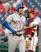 New York Mets second baseman Jeff McNeil (6) returns to the dugout after striking out in the first inning against the Washington Nationals at Nationals Park in Washington, D.C. on Wednesday, May 15, 2019.<br /> Credit: Ron Sachs / CNP<br /> (RESTRICTION: NO New York or New Jersey Newspapers or newspapers within a 75 mile radius of New York City)