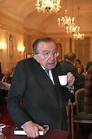 """Giulio Andreotti<br /> Roma, 19/12/2006 Presentazione del libro di Giuseppe Parlato """"Fascisti senza Mussolini"""". <br /> Photo Samantha Zucchi Inside"""