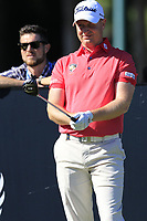 Richard McEvoy (ENG) on the 11th tee during Thursday's Round 1 of the 2018 Turkish Airlines Open hosted by Regnum Carya Golf &amp; Spa Resort, Antalya, Turkey. 1st November 2018.<br /> Picture: Eoin Clarke | Golffile<br /> <br /> <br /> All photos usage must carry mandatory copyright credit (&copy; Golffile | Eoin Clarke)