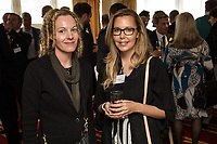 Joanna Blaxill (left) of Inbetween and Fiona Duncan of RSVIP Network