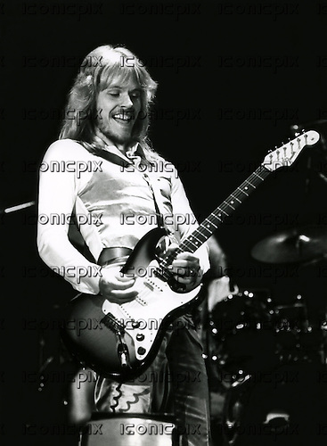 STYX - James Young - performing live at the Congresgebouw in the Hague Netherlands - 23 May 1978. Photo credit: MM-Media Archive/IconicPix