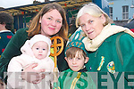 Carmel and Katie Enright with Richard and Christina Power from Listowel .having a super time at the Listowel St Patrick's Day parade on Sunday..   Copyright Kerry's Eye 2008