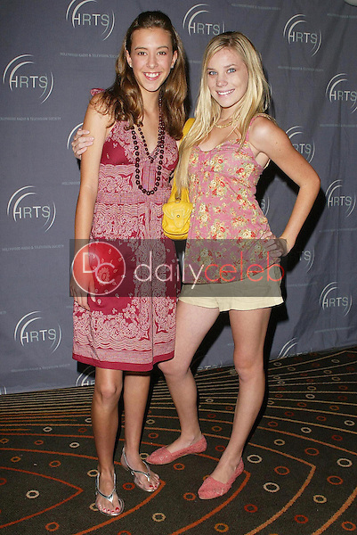 """Mary Lou and Emma Degerstedt<br />at the """"Kids Day 2006"""" presented by the Hollywood Radio and Television Society. Hollywood and Highland, Hollywood, CA. 08-02-06<br />Jason Kirk/DailyCeleb.com 818-249-4998"""