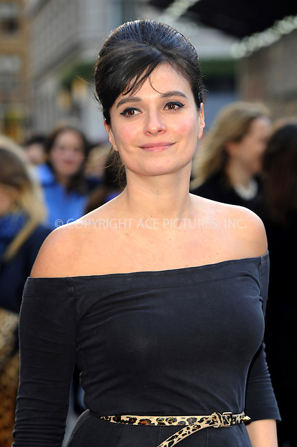 WWW.ACEPIXS.COM....US Sales Only....April 18 2013, London....Gizzi Erskine at the premiere of 'Iron Man 3' held at the Odeon Leicester Square on April 18 2013 in London ....By Line: Famous/ACE Pictures......ACE Pictures, Inc...tel: 646 769 0430..Email: info@acepixs.com..www.acepixs.com