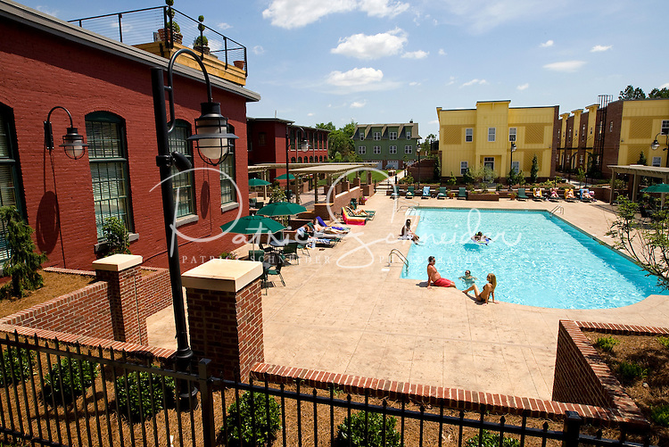 Photography Of Charlotte NCu0027s Alpha Mill Apartments, An Upscale Apartment  Community Near Uptown Charlotte And