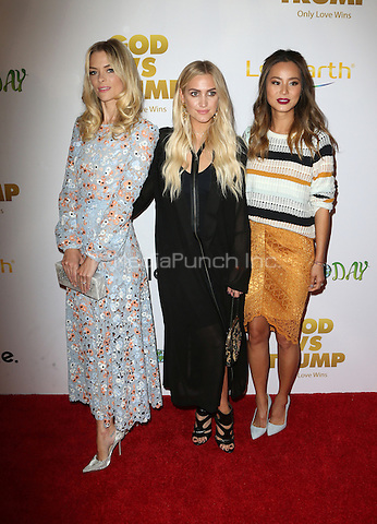 "Hollywood, CA - NOVEMBER 07: Jaime King, Ashlee Simpson, Jaime Chung at Premiere Of ""God vs Trump"" At TCL Chinese Theatre, California on November 07, 2016. Credit: Faye Sadou/MediaPunch"