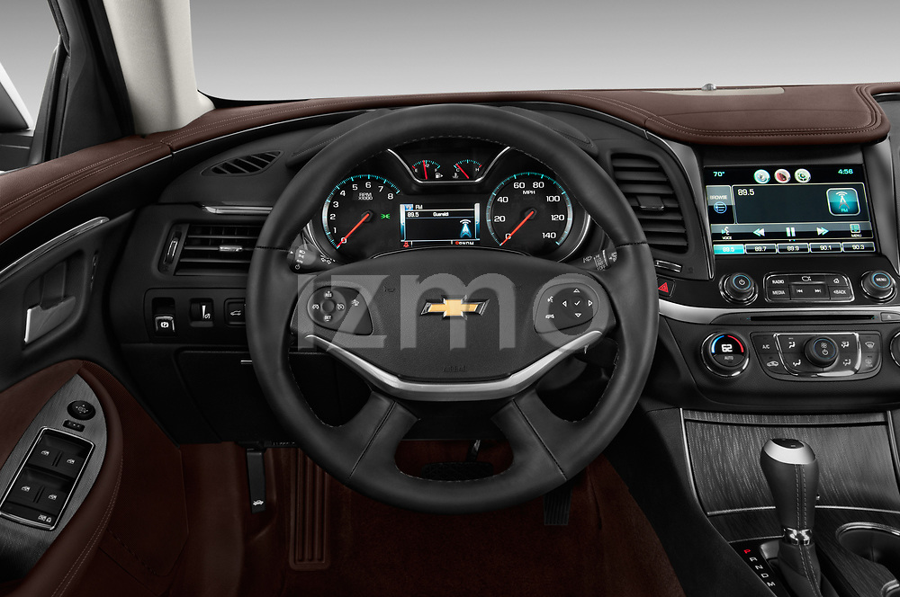 Steering wheel view of a 2014 Chevrolet Impala 2 LT2014 Chevrolet Impala 2 LT