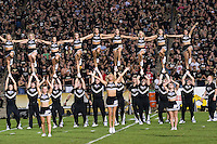 06 October 2007: Purdue cheerleaders..The Ohio State Buckeyes defeated the Purdue Boilermakers 23-7 on October 06, 2007 at Ross-Ade Stadium, West Lafayette, Indiana.