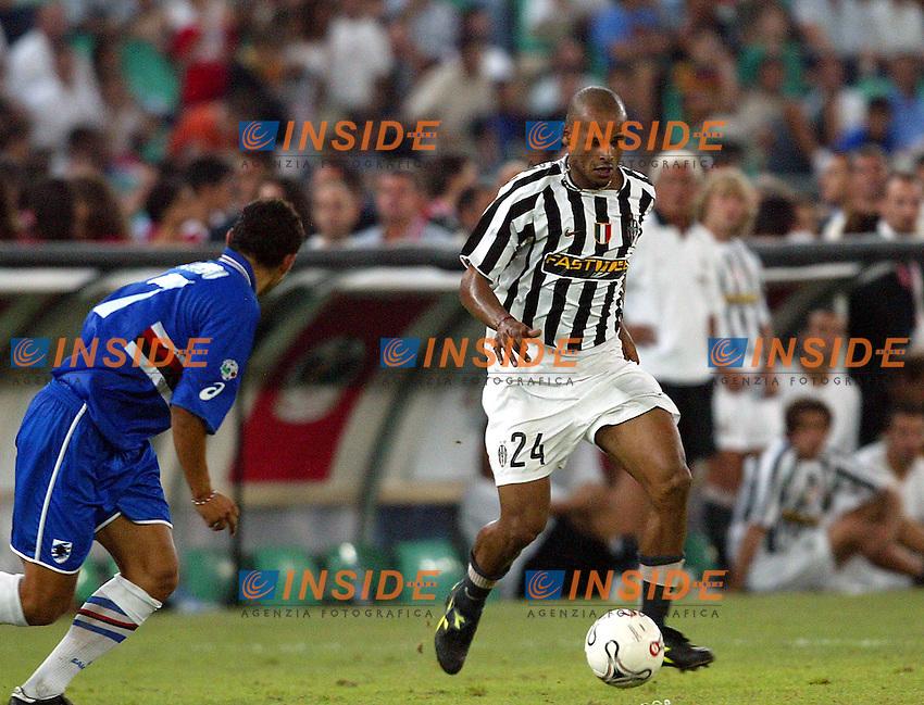 Bari 8/8/2003<br /> Birra Moretti Cup <br /> Ruben Olivera (Juventus)
