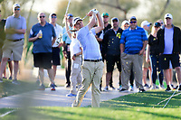 Nick Watney (USA) during the 2nd round of the Waste Management Phoenix Open, TPC Scottsdale, Scottsdale, Arisona, USA. 01/02/2019.<br /> Picture Fran Caffrey / Golffile.ie<br /> <br /> All photo usage must carry mandatory copyright credit (© Golffile | Fran Caffrey)