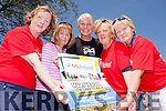 The MS Society North Kerry branch are planning a fundraising walk this Sunday in Lyreacrompane. Pictured were: Noelle Hegarty, Bríd O'Rourke, Maggie Large, Kate McGrath and Jean Quille.