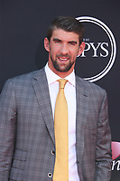 LOS ANGELES, CA - JULY 12: Michael Phelps at The 25th ESPYS at the Microsoft Theatre in Los Angeles, California on July 12, 2017. Credit: Faye Sadou/MediaPunch