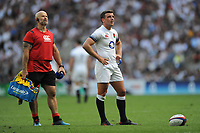 George Ford of England prepares to take a conversion kick during the Quilter Cup match between England and Barbarians at Twickenham Stadium on Sunday 27th May 2018 (Photo by Rob Munro/Stewart Communications)