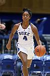 13 November 2016: Duke's Lexie Brown. The Duke University Blue Devils hosted the University of Pennsylvania Quakers at Cameron Indoor Stadium in Durham, North Carolina in a 2016-17 NCAA Division I Women's Basketball game. Duke defeated Penn 68-55.