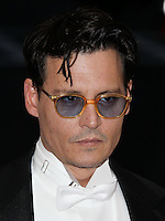"NEW YORK CITY, NY, USA - MAY 05: Johnny Depp at the ""Charles James: Beyond Fashion"" Costume Institute Gala held at the Metropolitan Museum of Art on May 5, 2014 in New York City, New York, United States. (Photo by Xavier Collin/Celebrity Monitor)"