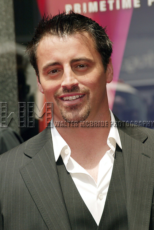 Matt LeBlanc (JOEY).Attending the NBC Network 2004-2005 Upfront announcements at Radio City Music Hall in New York City.