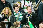 Stockholm 2015-03-14 Bandy SM-final herrar Sandvikens AIK - V&auml;ster&aring;s SK :  <br /> Fd V&auml;ster&aring;sspelaren Patrik Anderbro bredvid V&auml;ster&aring;s tr&auml;nare Michael Carlsson efter matchen mellan Sandvikens AIK och V&auml;ster&aring;s SK <br /> (Foto: Kenta J&ouml;nsson) Nyckelord:  SM SM-final final Bandyfinal Bandyfinalen herr herrar VSK V&auml;ster&aring;s SAIK Sandviken jubel gl&auml;dje lycka glad happy