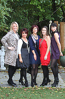 22/10/2010.Finalists of the Carraig Donn Woman 2010 Awards (L to R).Helen Lynch, Mullingar,.Elizabeth Fleming Offaly.Winner of the Carraig Donn Woman 2010 award Anne Jordan from Foxford,.Sharon Huggard, Cork .Anna Adamowska, Kilkenny.at Ireland AM studios at TV3 HQ ,Dublin..Photo: Gareth Chaney Collins