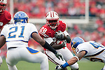 Wisconsin Badgers running back Montee Ball (28) carries the ball during an NCAA college football game against the San Jose State Spartans on September 11, 2010 at Camp Randall Stadium in Madison, Wisconsin. The Badgers beat San Jose State 27-14. (Photo by David Stluka)