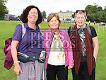 Dolores, Phillie and Breda McCormack who took part in the Fr Willie Cleary memorial walk from Oldbridge House to the Hill of Slane. Photo:Colin Bell/pressphotos.ie