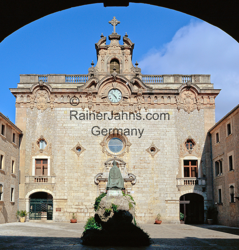 Spain, Balearic Islands, Mallorca, Lluc Monastery   Spanien, Balearen, Mallorca, Kloster Lluc