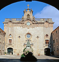 Spain, Balearic Islands, Mallorca, Lluc Monastery | Spanien, Balearen, Mallorca, Kloster Lluc