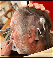 Deaf DJ's remarkable cochlear implant.