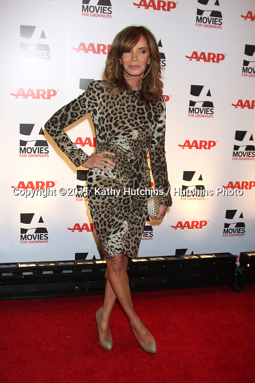 "LOS ANGELES - FEB 7:  Jaclyn Smith arrives at the 2011 AARP ""Movies for Grownups"" Gala  at Regent Beverly Wilshire Hotel on February 7, 2011 in Beverly Hills, CA"