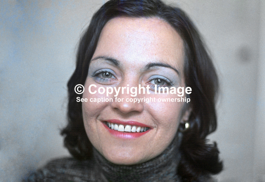 Mairead Corrigan, founder, Peace People, N Ireland, UK, 197610150440b<br />