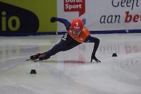 SHORTTRACK: DORDRECHT: Sportboulevard Dordrecht, 24-01-2015, ISU EK Shorttrack, Sjinkie KNEGT (NED), ©foto Martin de Jong