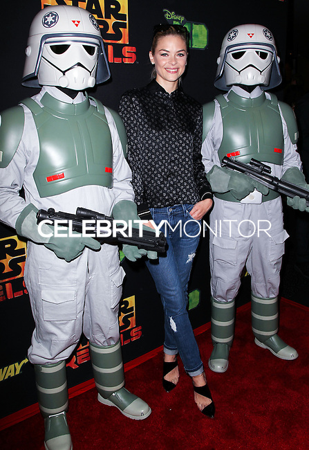 """CENTURY CITY, CA, USA - SEPTEMBER 27: Jaime King arrives at the Los Angeles Screening Of Disney XD's """"Star Wars Rebels: Spark Of Rebellion"""" held at the AMC Century City 15 Theatre on September 27, 2014 in Century City, California, United States. (Photo by Celebrity Monitor)"""