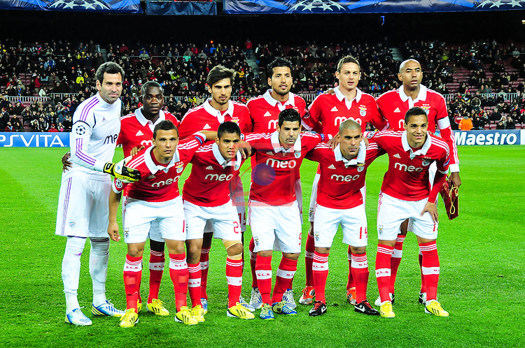 FC Barcelona vs SL Benfica: 0-0 - Champions League 2012/13-Game: 6