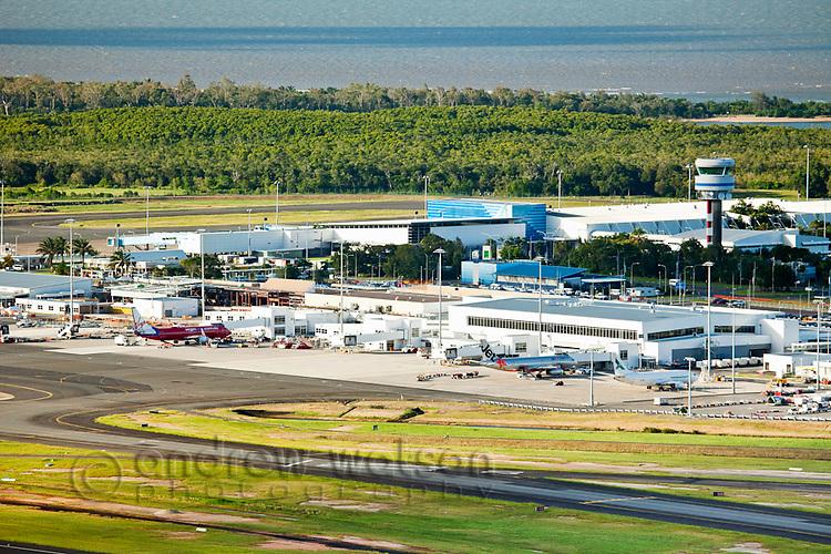 Cairns airport.  Cairns, Queensland, Australia