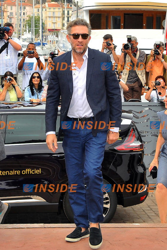 Vincent Cassel attends the 'Il Racconto Dei Racconti' photocall during the 68th annual Cannes Film Festival on May 14, 2015 in Cannes, France. <br /> Festival del Cinema di Cannes 2015<br /> Foto Panoramic / Insidefoto
