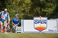 Austin Cook (USA) approaches the tee on 2 during round 4 of the 2019 Houston Open, Golf Club of Houston, Houston, Texas, USA. 10/13/2019.<br /> Picture Ken Murray / Golffile.ie<br /> <br /> All photo usage must carry mandatory copyright credit (© Golffile | Ken Murray)