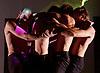 Burning Doors<br /> Belarus Free Theatre at The Soho Theatre, London, Great Britain <br /> press photocall <br /> 1st September 2016 <br /> <br /> Kiryl Kanstantsinau<br /> Siarhei Kvachonak<br /> Andrei Urazau <br /> Pavel Haradnitski<br /> <br /> Photograph by Elliott Franks <br /> Image licensed to Elliott Franks Photography Services