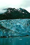 AK: Glacier Bay National Park, Alaska, Margerie Glacier    .Photo Copyright: Lee Foster, lee@fostertravel.com, www.fostertravel.com, (510) 549-2202.Image: akglac201