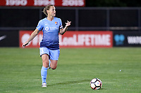 Piscataway, NJ - Saturday June 3, 2017: Christie Pearce during a regular season National Women's Soccer League (NWSL) match between Sky Blue FC and the Portland Thorns at Yurcak Field.  Portland defeated Sky Blue, 2-0.